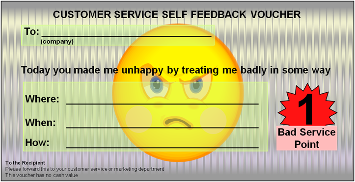 Unhappy Voucher